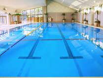 屋内温水プール(25m×6レーン)の画像