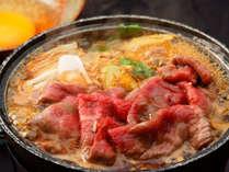 黒毛和牛のすき焼き(イメージ)