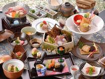 【お食事グレードアップ】料理長特別献立 -海・山 伊豆の大地-
