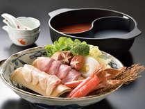 【伊豆の食】旬の魚三種をしゃぶしゃぶで
