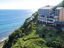 【外観画像】高台に位置し、海の絶景が望めます。