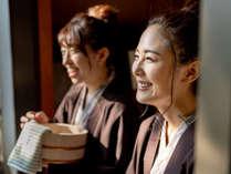 若い女性のお客様にも多くご利用いただいております。卒業旅行にもお勧め!
