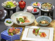 【笛吹市宿泊割】◆旬彩-shunsai- ホテル君佳特選◆季節のこだわり食材を使った和会席を味わう♪