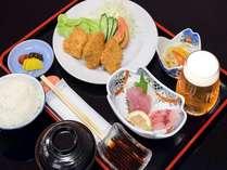 【平日限定!8000円ポッキリ】◆グラスビール1杯×日替わり定食付プラン!ビジネス連泊におすすめ♪