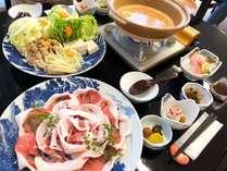 【グレードアッププラン】 すさみ名物イノブタを食べるならこれ! 美人鍋と美人の湯 プチ湯治プラン