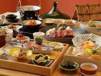 【食事】和食会席 地の食材を普段に使用した料理は絶品です。の画像