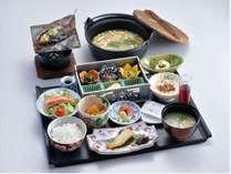 【朝食】朴葉味噌が美味しい自慢の朝食(イメージ)