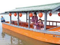 【昼クルーズ】屋形船で優雅に水上散歩&総湯チケット付で柴山潟を満喫♪