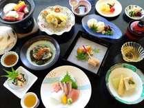 【季節の和会席・夏】旅の醍醐味のひとつでもあるお食事は季節に合わせて変えております※イメージ