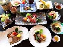 【おすすめコース・春】ホタルイカしゃぷや牛ステーキ、鰆、蛸など旬が満載の全14品※イメージ