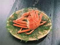 【秋冬限定★外国産ズワイ蟹まるごと1杯付】季節のお料理とともに蟹をプチ堪能♪お手頃かにプラン