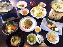 【彩会席】ローストビーフ、ほかほかの美味しいご飯を愉しめる釜飯などをご用意※イメージ