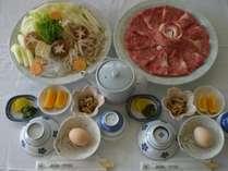特上!和牛ロース【すき焼き会席】/朝食(和食)