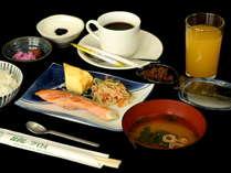 朝食は比良レーク特製和定食☆