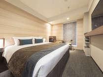 スーペリアダブル 160cm幅のベッドでゆったりと贅沢に。