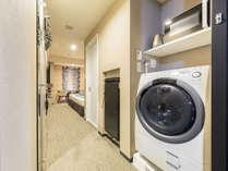 洗濯乾燥機 & 電子レンジ