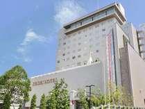 水戸駅北口より徒歩3分[ホテル下、大銀杏の木が目印!]