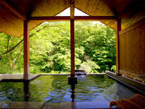 *【露天風呂・ほたるの湯】自然の中でゆっくり温まってください