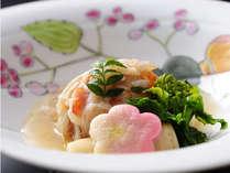 *季節のお料理一例。春夏秋冬、それぞれの旬をご堪能頂けます。