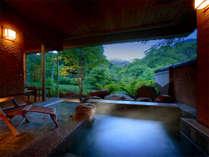 【特別室】 *和のリゾートを体現した最上級のお部屋と専用露天風呂で贅沢なひとときを。