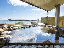 【露天風呂 五大観】松島湾を一望する絶景の露天風呂