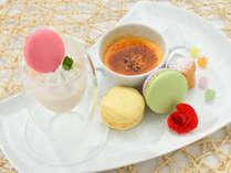 料理長厨房ビュッフェ青海波で味わえる手づくりデザート。