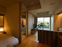 「ビューバス付き眺望和ツイン 洗心」は、全7室内装が少しずつ異なります。