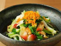 レストラン青海波の日替わりで味わえる季節のビュッフェメニュー。
