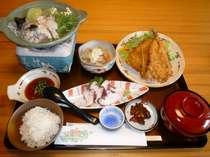 Aプランの夕食例