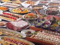【サマーバイキング】寿司にステーキに和食・洋食・デザート食べ放題!