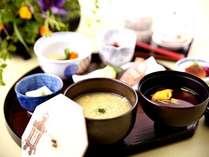 【ご朝食】お茶粥