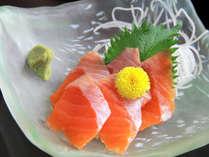 *夕食一例◆安曇野産信州サーモン