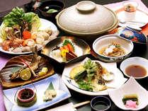 ~旬味覚スタンダード料理~ 旬味覚スタンダード料理一例です。山の幸と郷土料理の共演をお楽しみください