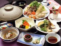 定番の特製信州みそ鍋≪4≫お料理一例