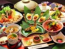 ~信州三昧グレードアップ料理~ 信州食材にこだわり、一品一品丁寧に調理したグレードアップ料理一例です