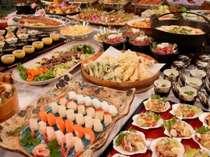四季折々の和食を中心とした「ふるさとバイキング」 デザートも充実で幅広い世代から人気です!