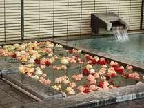 ホテル紅葉館 バラ風呂のコーナー(5/31迄) 女子大浴場 14:00~19:00