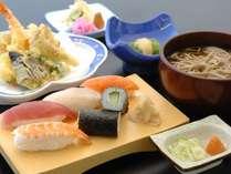 昼食【寿司そば定食】イメージ
