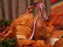 クリスマスには欠かせないチキン!※料理イメージ