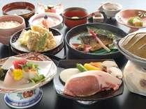 【岩手ふるさと膳】和食処「羽山」での夕食 ※料理イメージ
