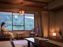 【標準和室10畳】お部屋からの眺望は花巻温泉を囲む山々。※イメージ