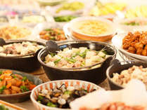 【さくらダイニング】料理イメージ。滋味あふれる食材をふんだんに使用した料理をご堪能ください。