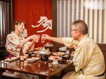【和食処「羽山」】和食処「羽山」。旬の食材で作るこころのこもった料理メニューは二次会にも最適。