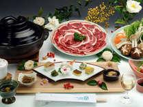 ●ぼたん鍋●イノシシのお肉を食べて寒い冬を乗り切りましょ♪