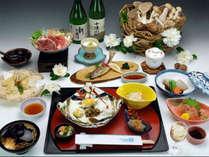 ●2014冬●雪椿会席地元食材にこだわったお料理は身体の芯から暖まりそう♪