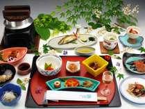 【2017年夏・涼風会席(一例)】十津川グルメたっぷり!夏限定のお料理をご賞味あれ♪