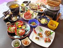 【涼風会席】夏ならではの旬の食材を使用し、見た目からも涼を感じられる夏の会席料理です!