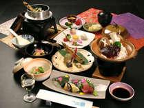 【水無月会席】2020ver山菜と共に郷土料理をふんだんに使用した、彩り豊かな春の会席料理です!