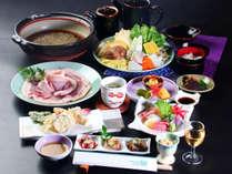 【冬季限定】天然の厳選猪肉使用!!料理長こだわりの地元の味噌で味わう♪≪厳選ボタン鍋≫