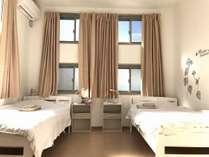 女性専用 ツインルーム 1~3名様まで料金設定あり。